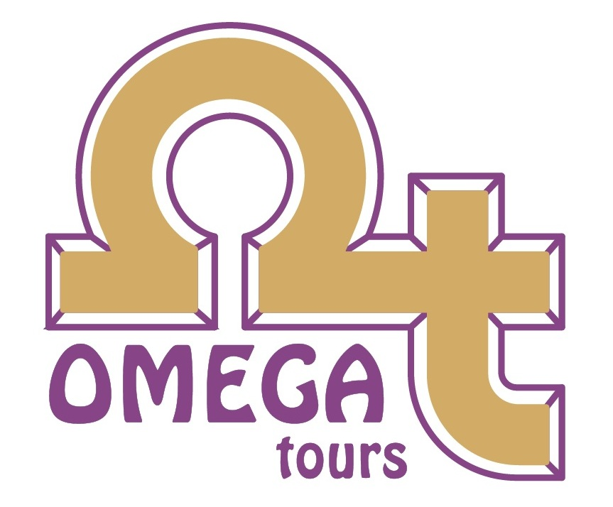 Logo Omega Tours s okrajom